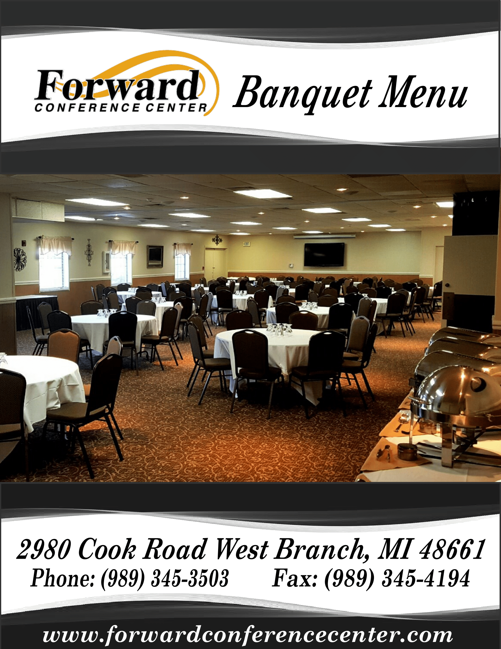 Full Banquet Menu - #1