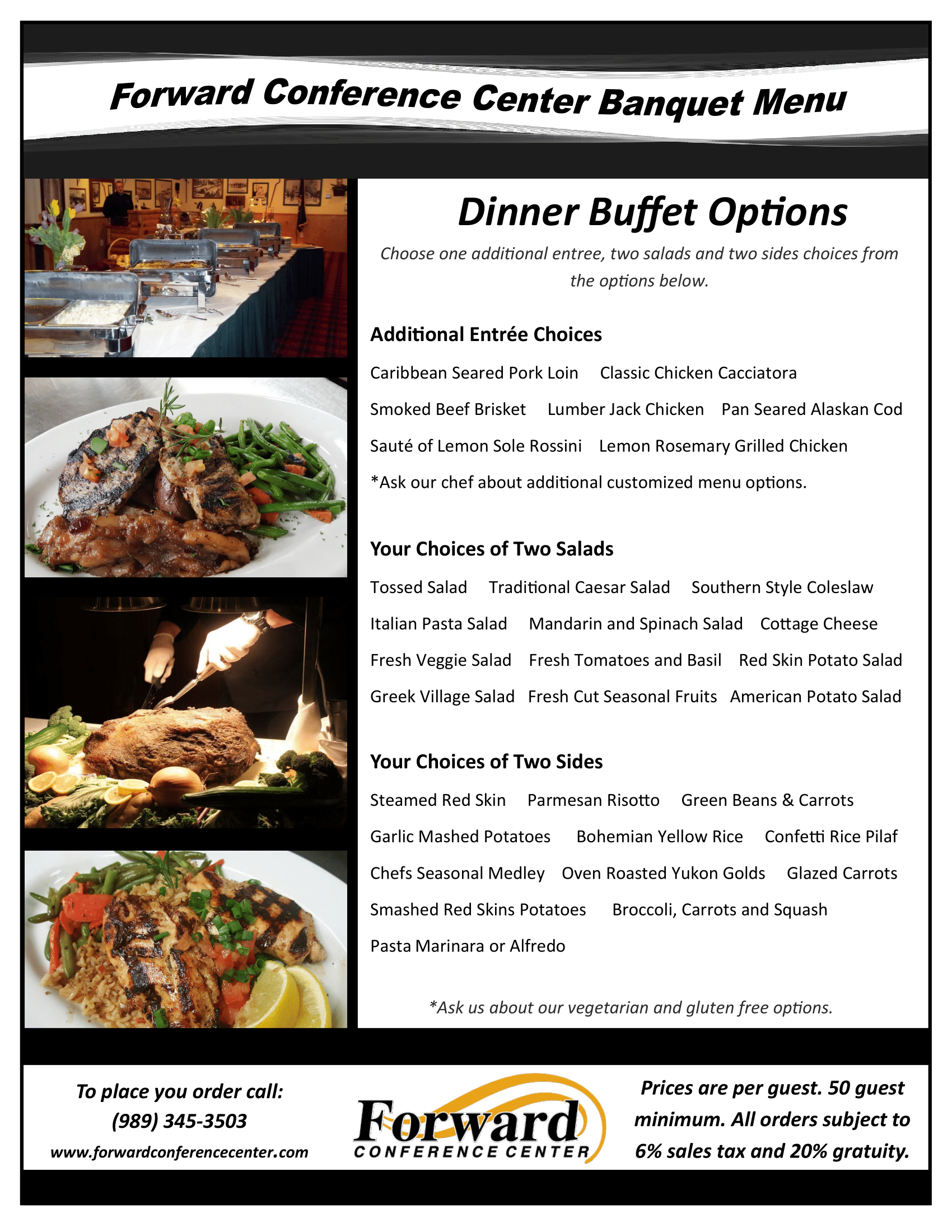 Full Banquet Menu - #9