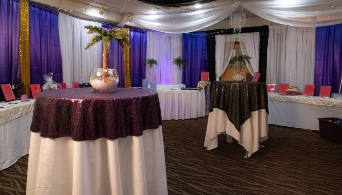 Standing Tables at Event